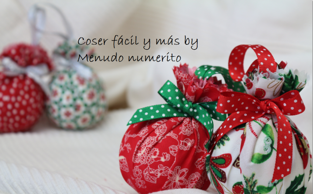 Adornos para el rbol de navidad el blog de coser f cil - Adornos de navidad 2014 ...