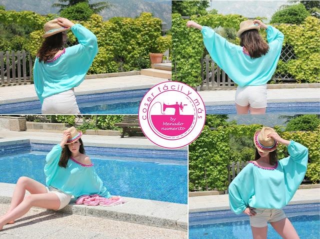 Cómo hacer un blusón de verano