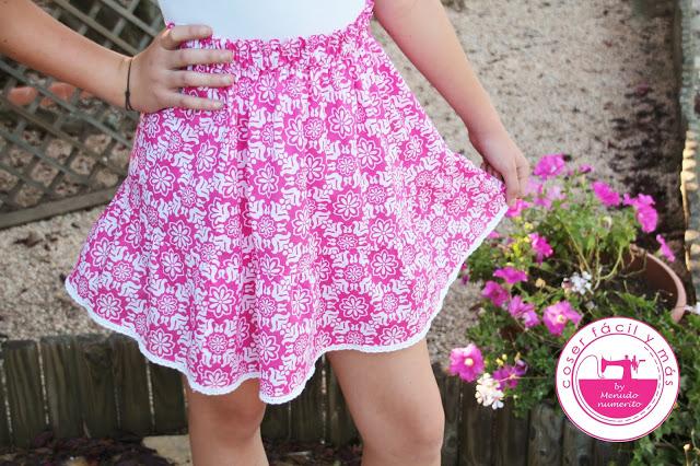 Ideas para reciclar: falda de verano a partir de un camison