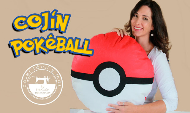 Cojín de Pokeball de Pokemon