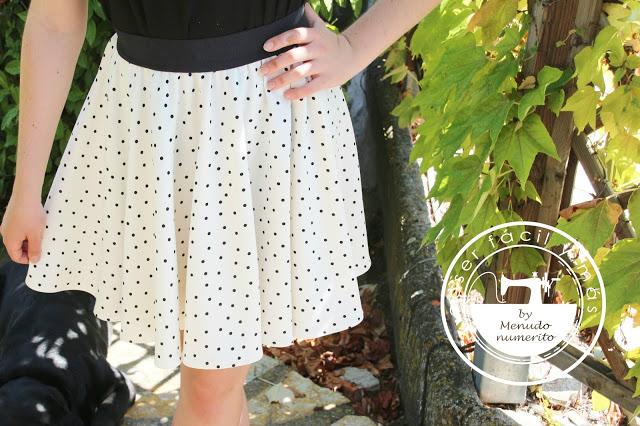 Cómo hacer una falda circular