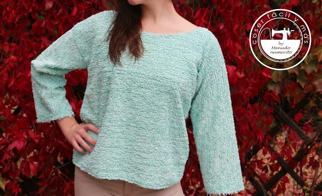 Como hacer un jersey o suéter sin patrones