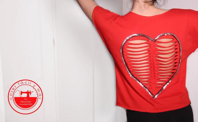 Una idea para personalizar camisetas