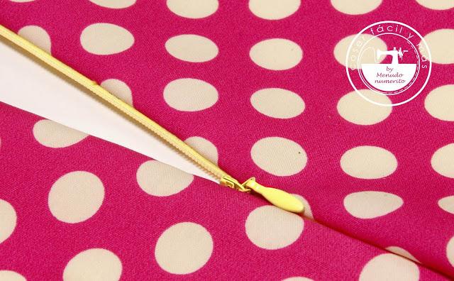 Cómo coser cremalleras invisibles