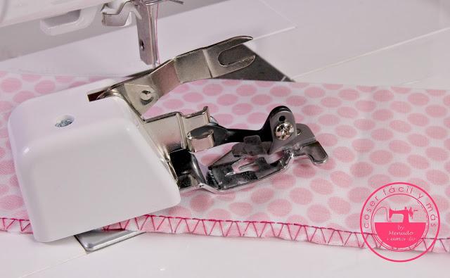 Convierte tu máquina de coser en una overlock