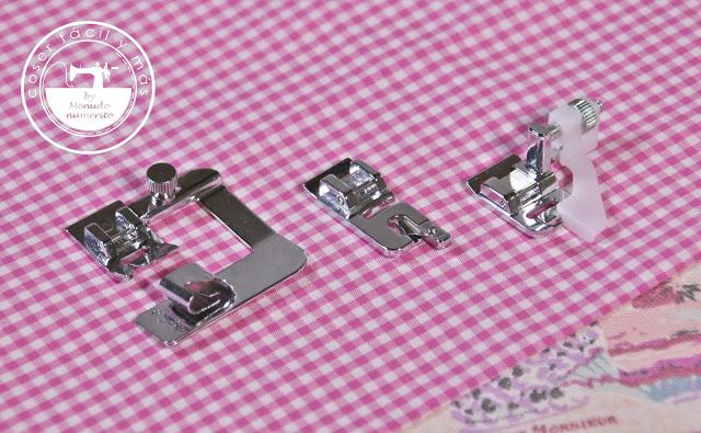 3 prensatelas para coser dobladillos