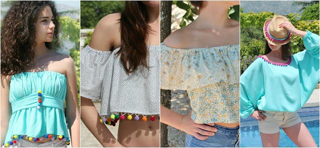 5 blusas fáciles para verano que vas a querer coser