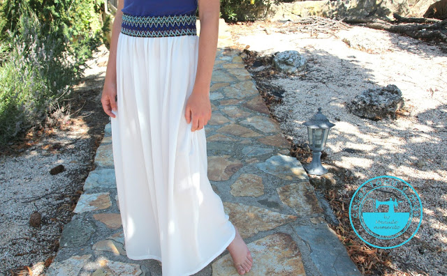 Cómo coser una maxi falda
