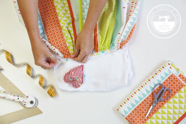 Qué es el hilo de la tela y cómo cortar un patrón