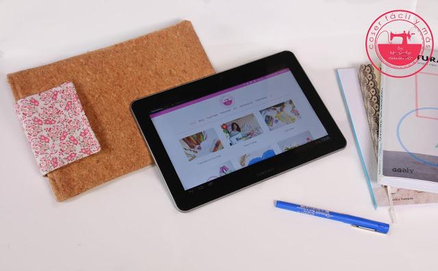 Ideas para regalar: funda de corcho para tablet