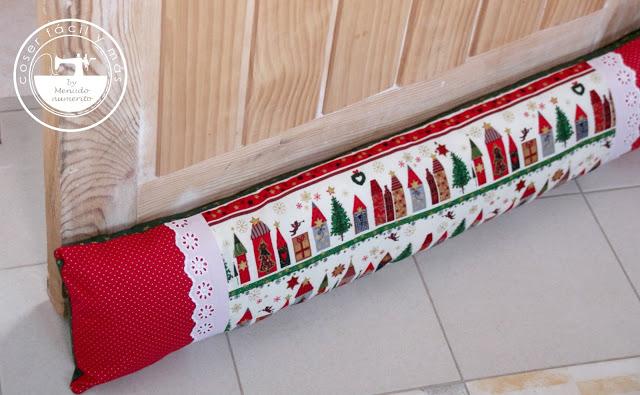 Un bajopuerta, ideas para decorar tu Navidad