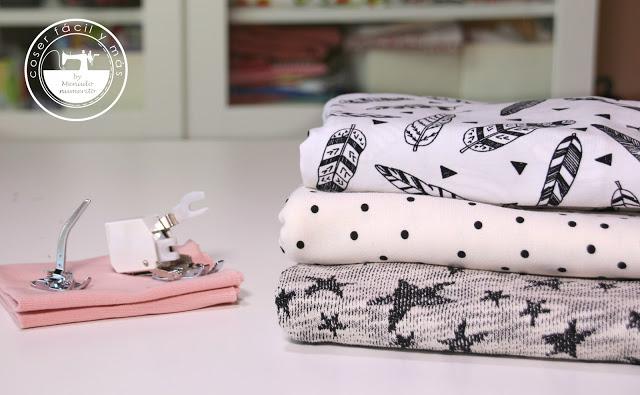 Cómo coser punto o tela de camiseta, todos los trucos