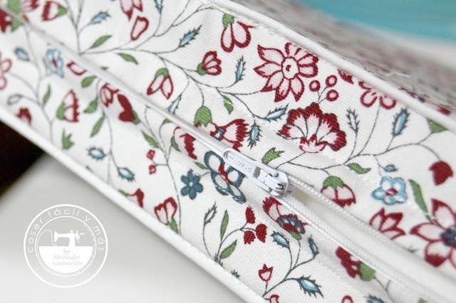 Cómo coser una cremallera con solapas o tapetas