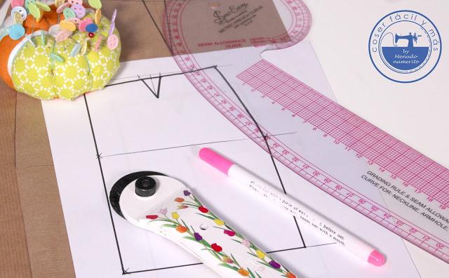 Serie faldas I: Cómo trazar el patrón base fácilmente