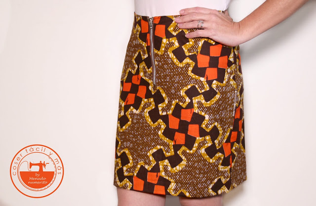 Serie faldas II: falda recta a medida