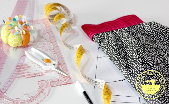 Cómo trazar el patrón de una falda de media capa