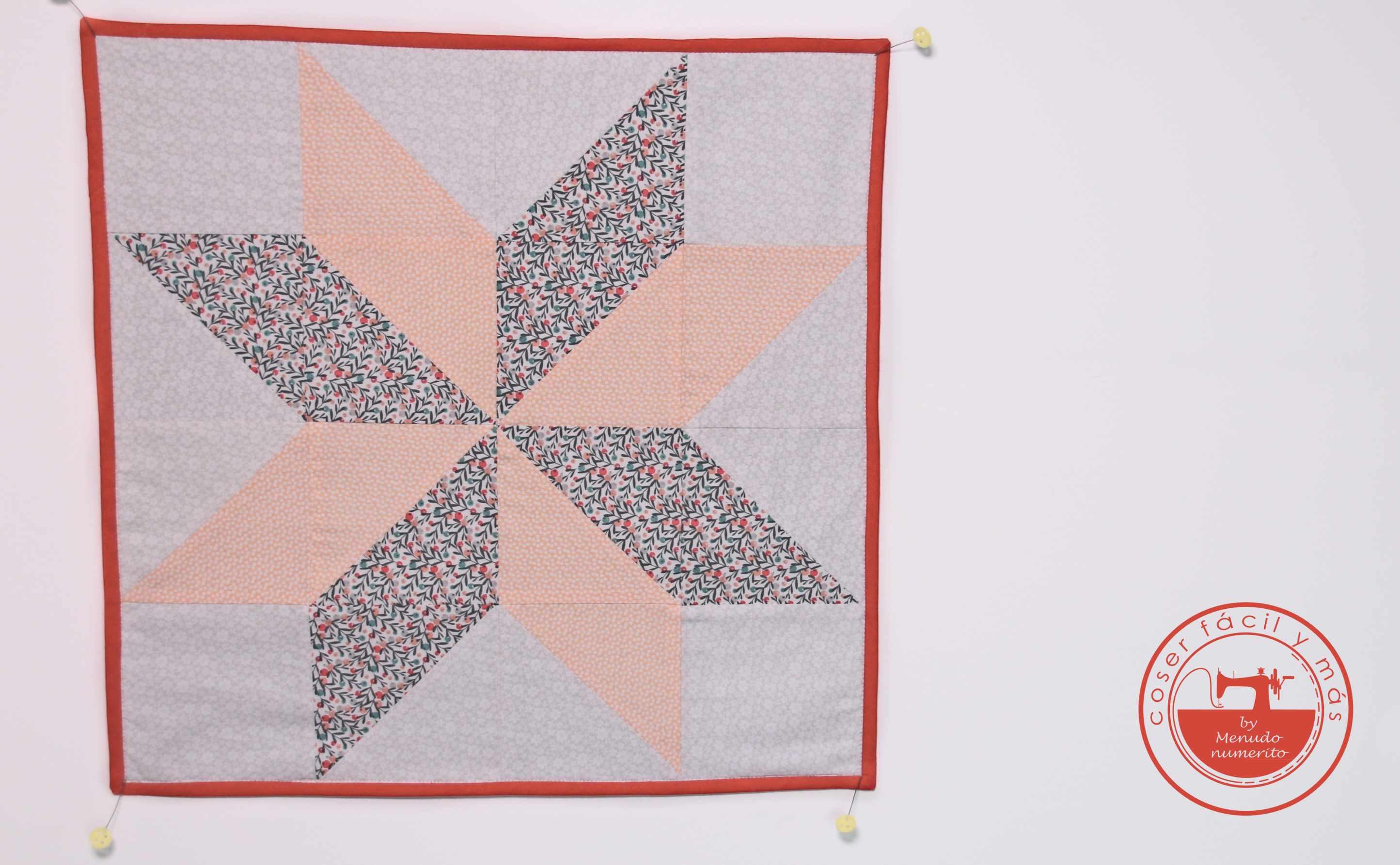 estrella lemoyne patchwork menudo numerito coserfacil