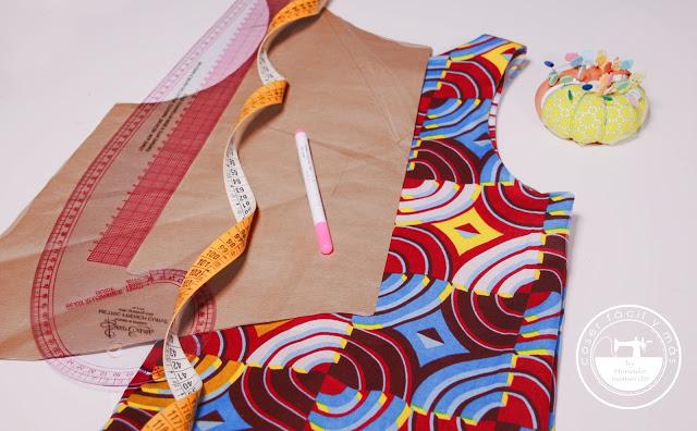 Cómo trazar el patrón de una blusa de verano: mi blusa africana