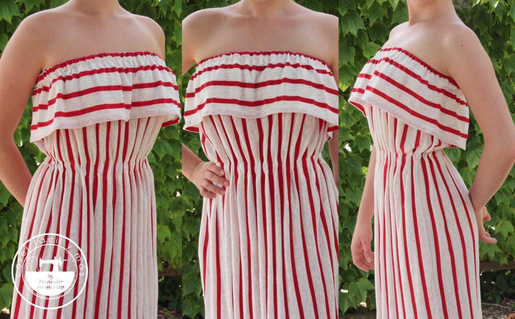 vestido de punto de verano facil