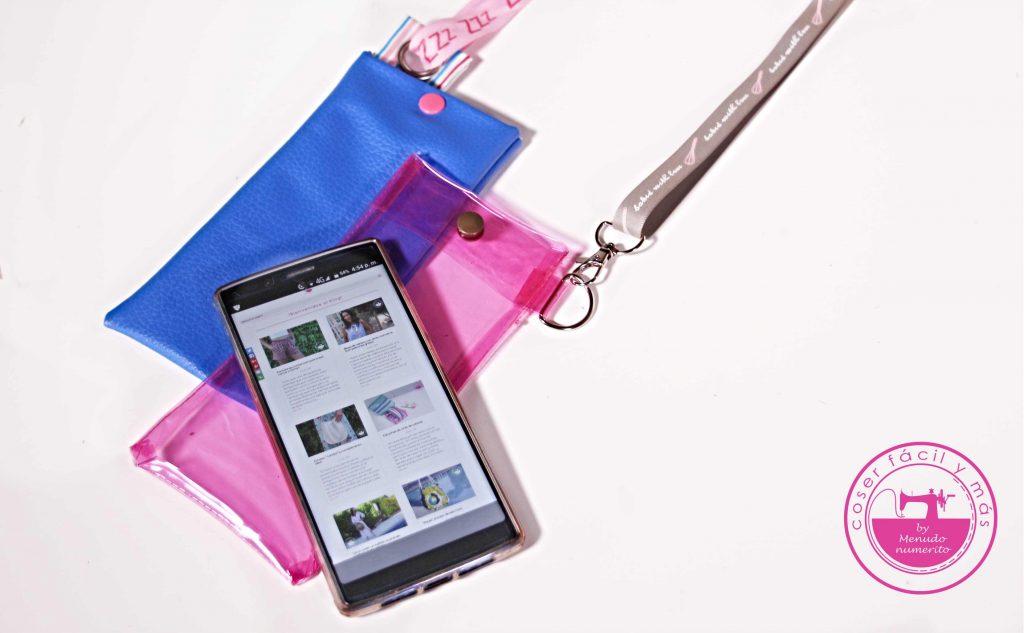 2 fundas de móvil muy fáciles - El blog de Coser fácil y más by ...