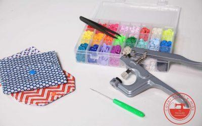 Cómo poner snaps, ojetes y cierres magnéticos fácilmente