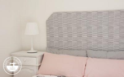 Cómo tapizar un cabecero, primera parte de la reforma del cuarto de invitados