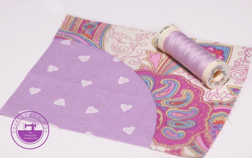 coser piezas curvas coser facil y mas menudo numerito