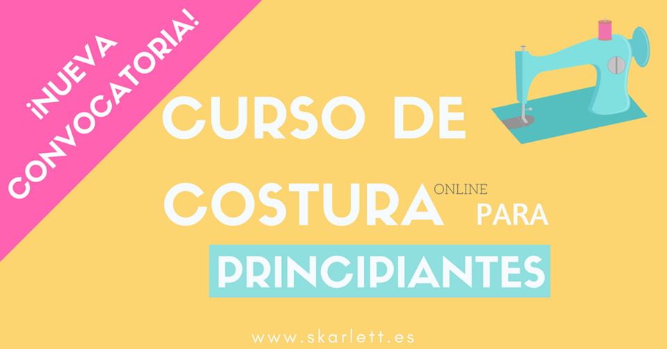 b4fe84334e Curso de costura online para principiantes - El blog de Coser fácil ...