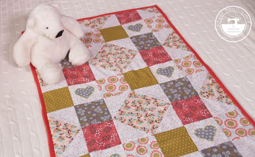 colcha manta de patchwork coser facil y mas