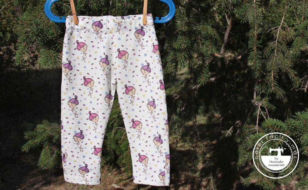 coser leggings sin remalladora coser punto menudo numerito clonar