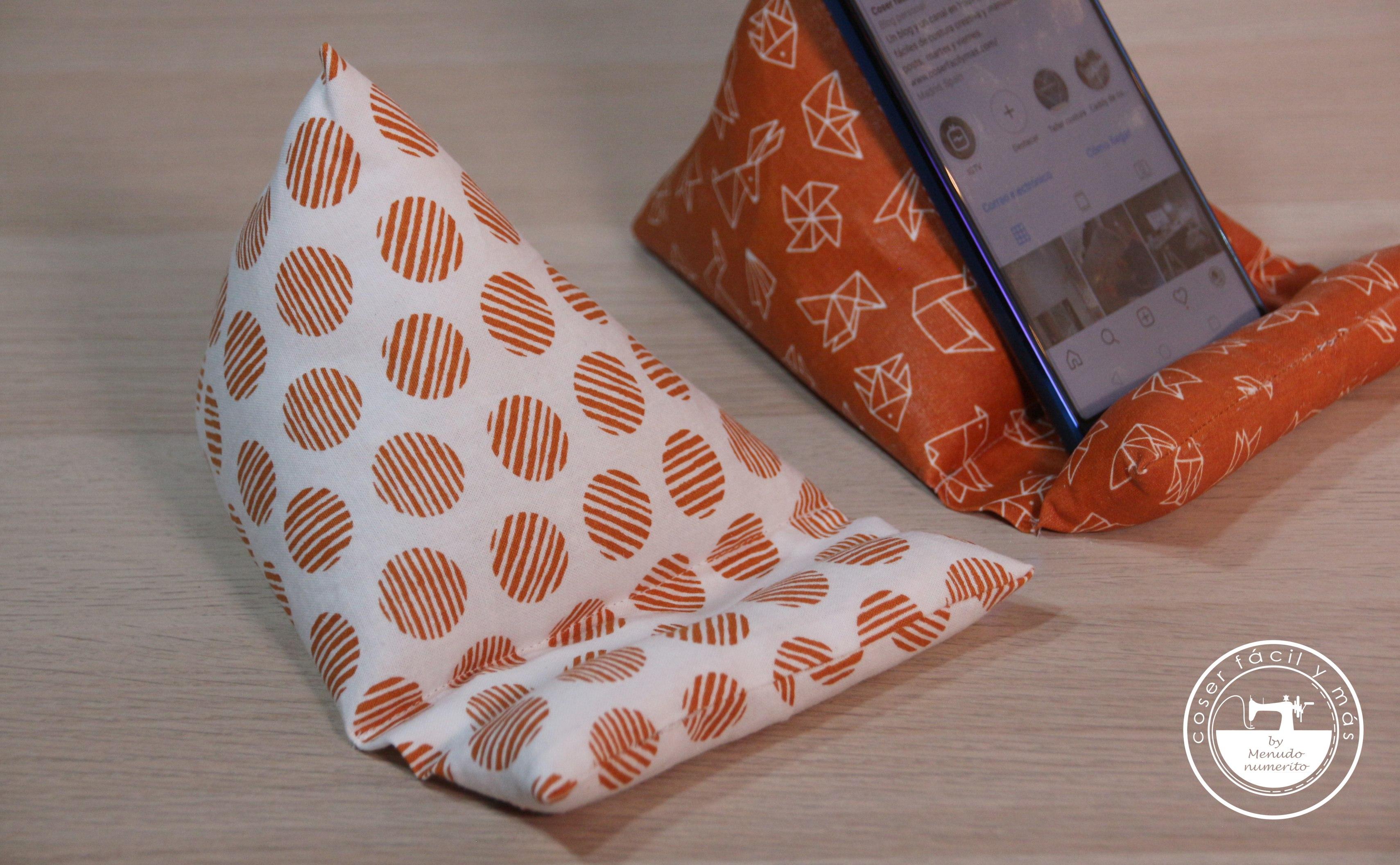 soporte de movil sobremesa coser facil y mas menudo numerito