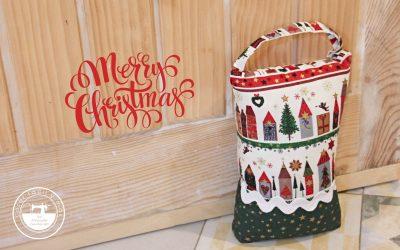 Sujetapuertas fácil para Navidad