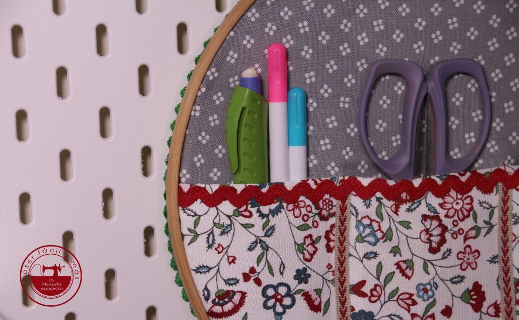 bastidor organizador coser facil y mas menudo numerito blogs de costura