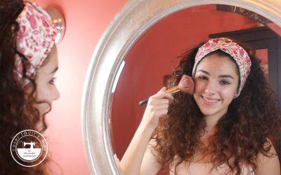 Diadema para maquillaje