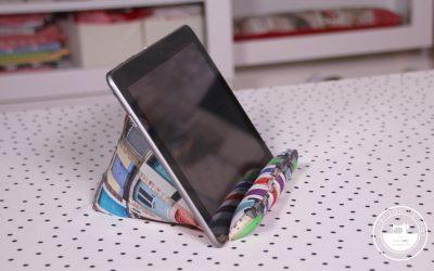 Soporte para tablet fácil
