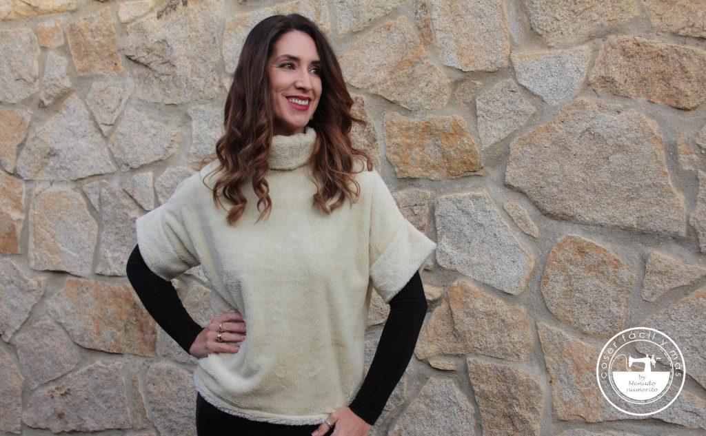 clonar jersey cuello chimenea coser facil y más menudo numerito