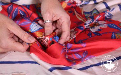 Trucos para coser telas finas
