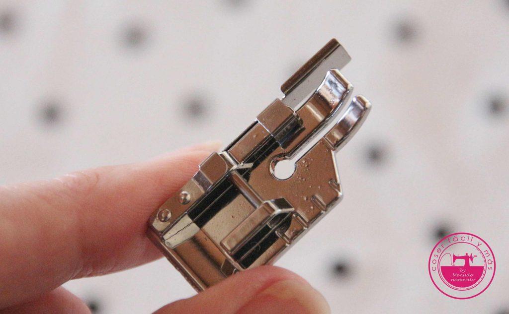 prensatelas cuarto pulgada con guia laterial coser facil y mas menudo numerito