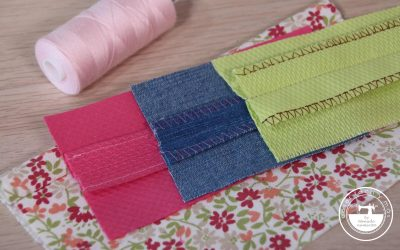 Rematar márgenes de costura: 9 técnicas sencillas