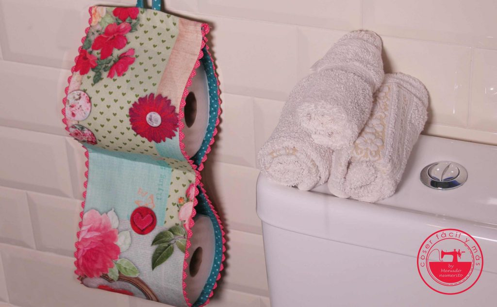 portarrollos papel higienico coser facil menudo numerito