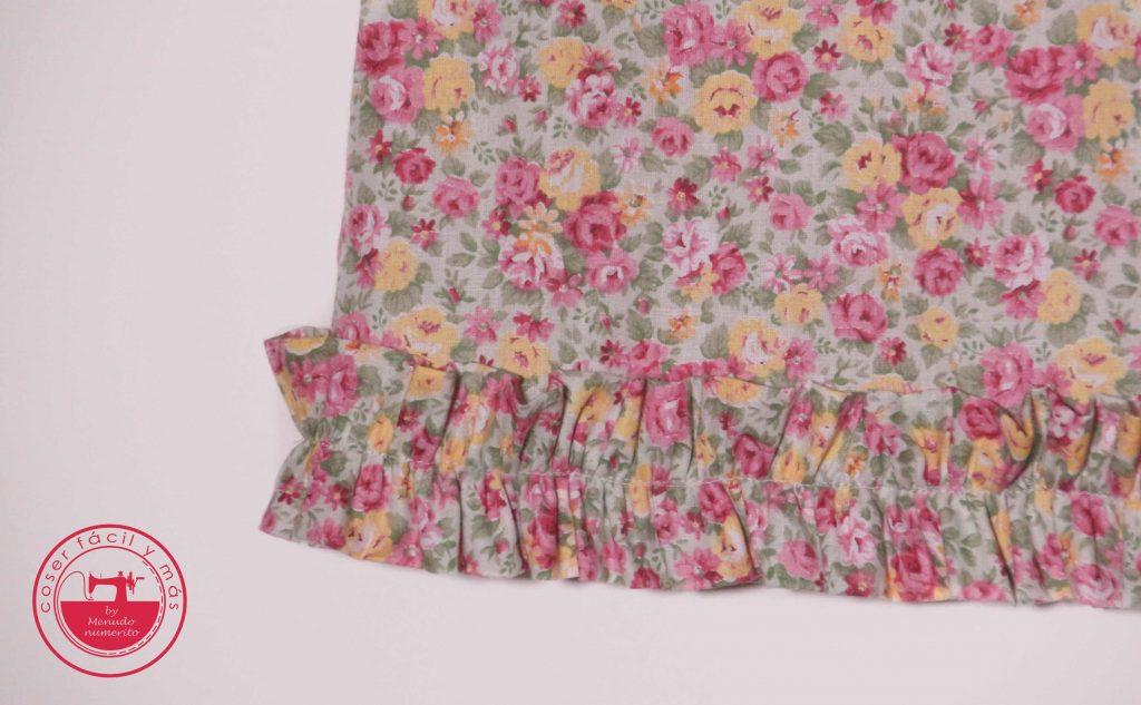 blusa para niña coser facil menudo numerito paula