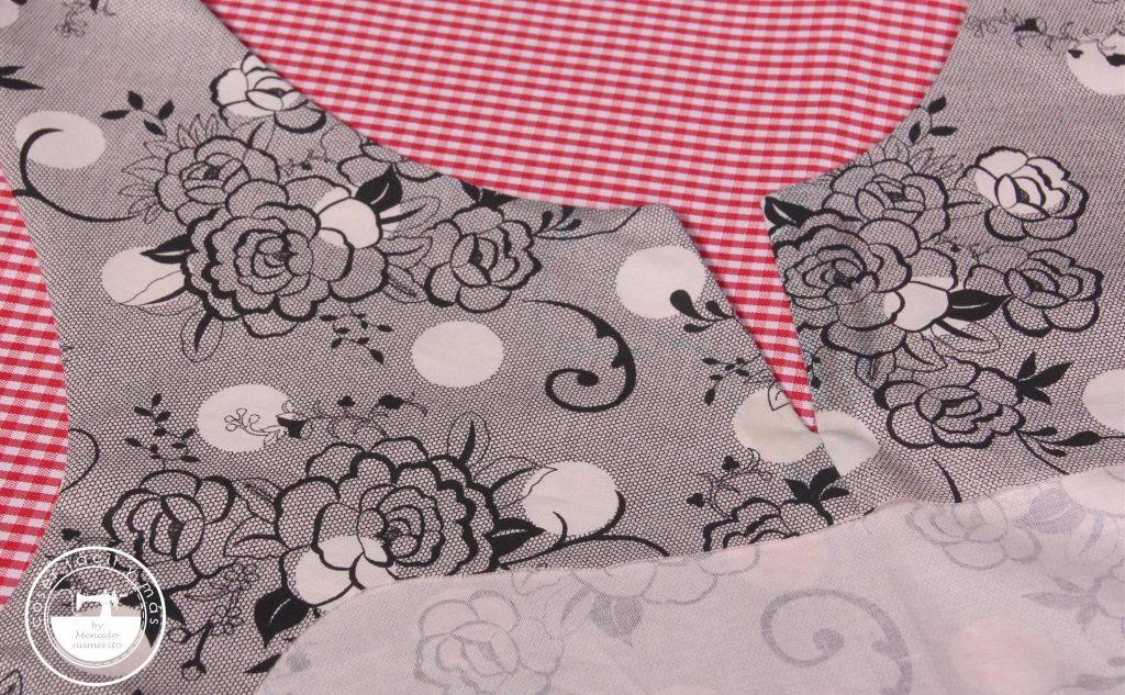 escote con abertura coser facil menudo numerito
