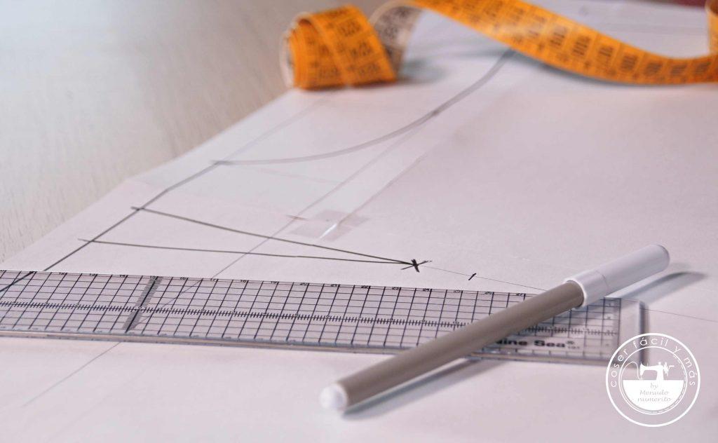 trazar patron base blusa coer facil menudo numerito blogs de costura