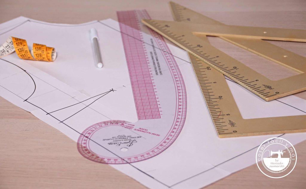 trazar patron blusa basica coser facil menudo numerito blogs de costura