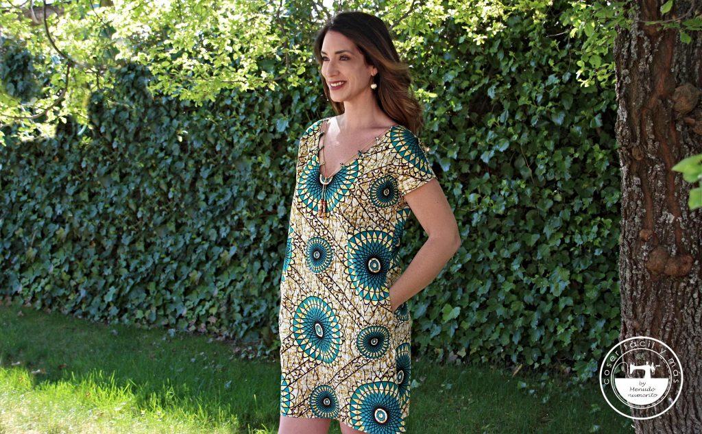 vestido telas africanas coser facil menudo numerito yolanda