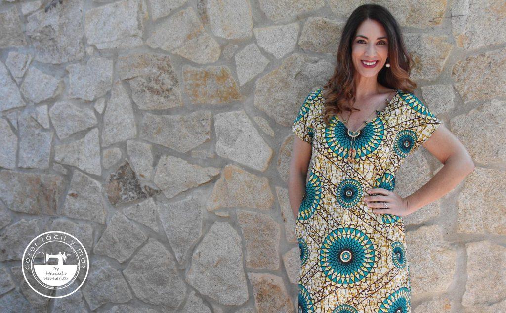 vestido yolanda telas africanas coser facil menudo numerito