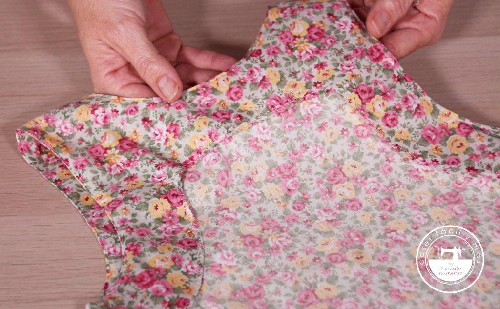 vistas de escote y sisas coser facil menudo numerito