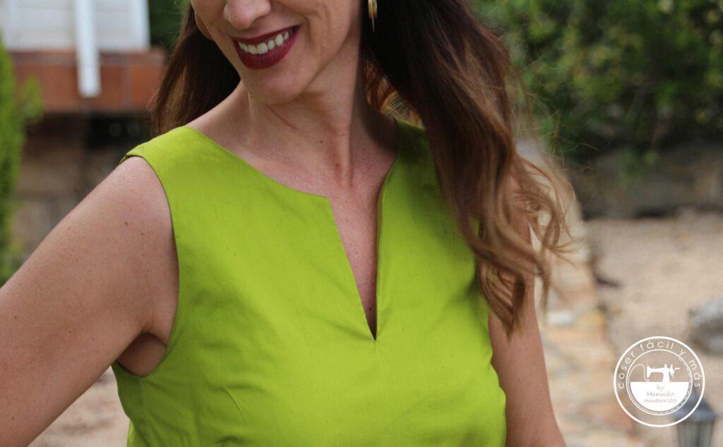 blusa eva abertura frontal coser facil menudonumerito