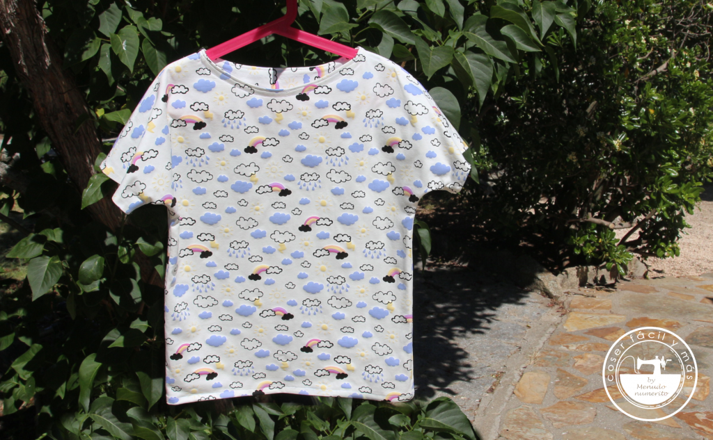 coser camisetas sin remalladora coser facil menudo numerito