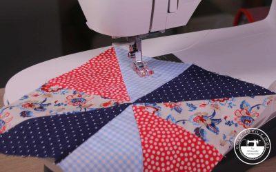 Como hacer el molinillo de patchwork